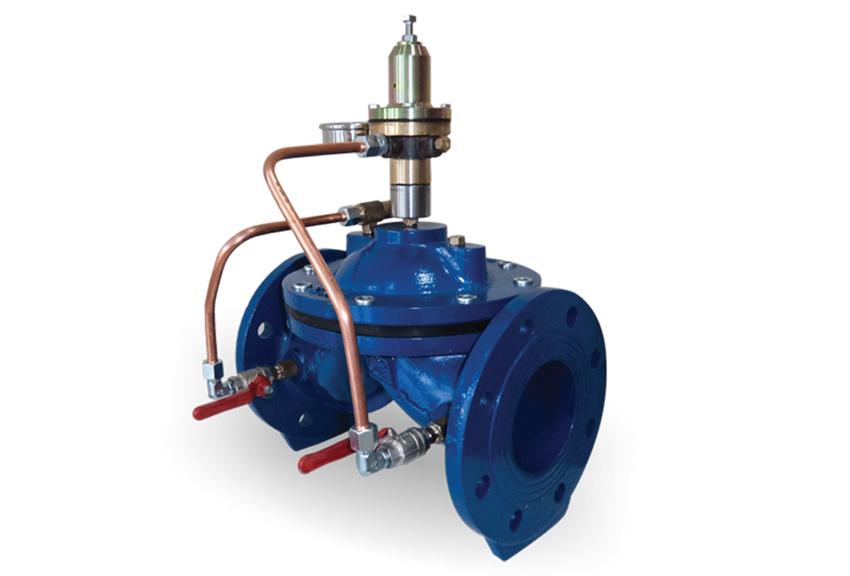 pressure reducing control valve hrk valve herkul. Black Bedroom Furniture Sets. Home Design Ideas